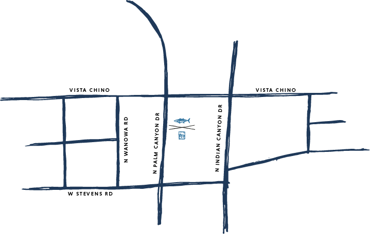 Map showing where Sandfish is located